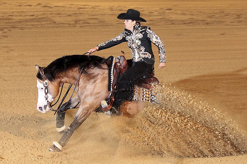 Sicuro claims NRHA Open title, Baeck reserve
