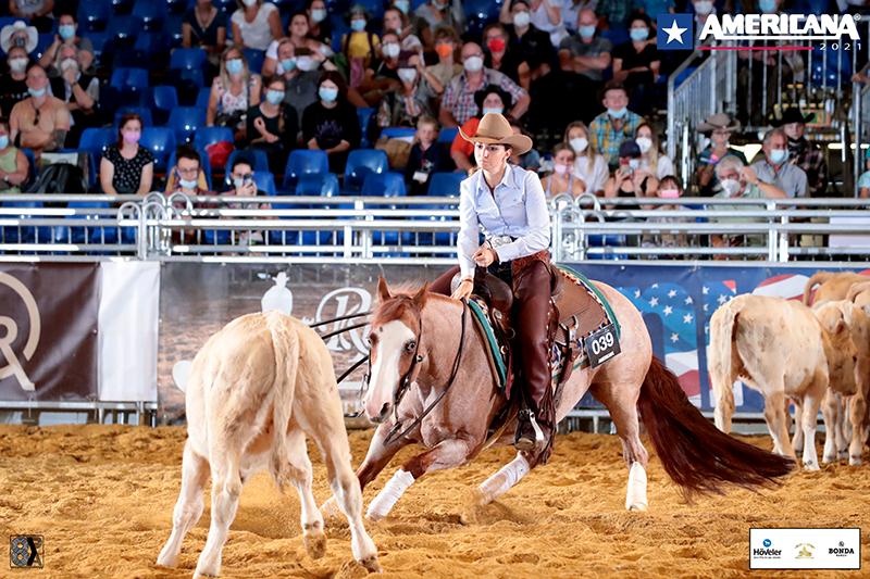 Gaia Salvatori European Champion Cutting Non Pro