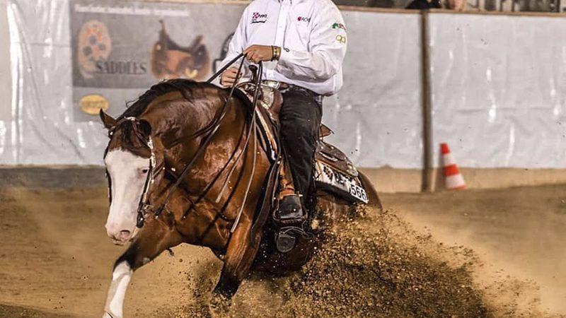 Gennaro Lendi NRHA $ 1 Million Rider